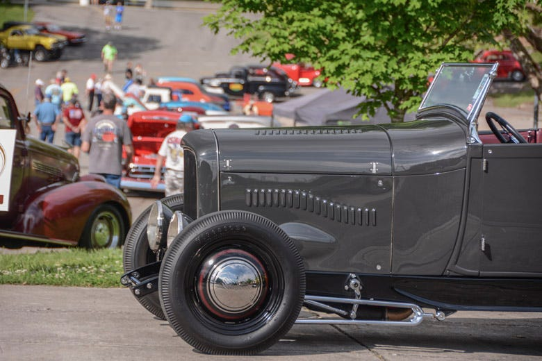 Street Rods, Customs and Classics at the NSRA Street Rod Nationals South