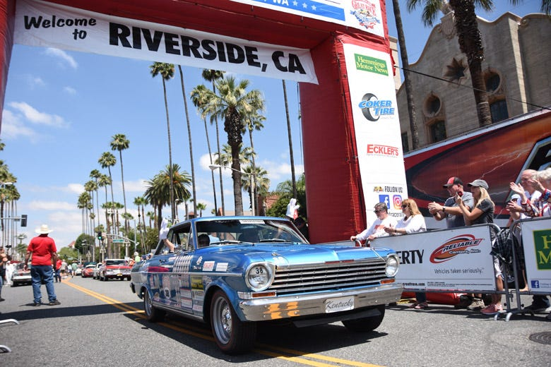 The 2019 Great Race Kicks Off in Riverside, California