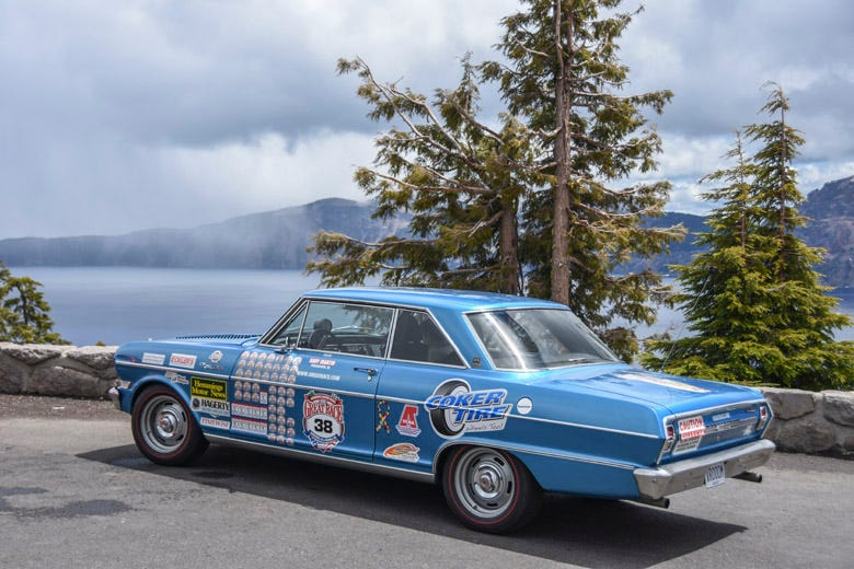Great Race 2019 Day 6 -- Crater Lake