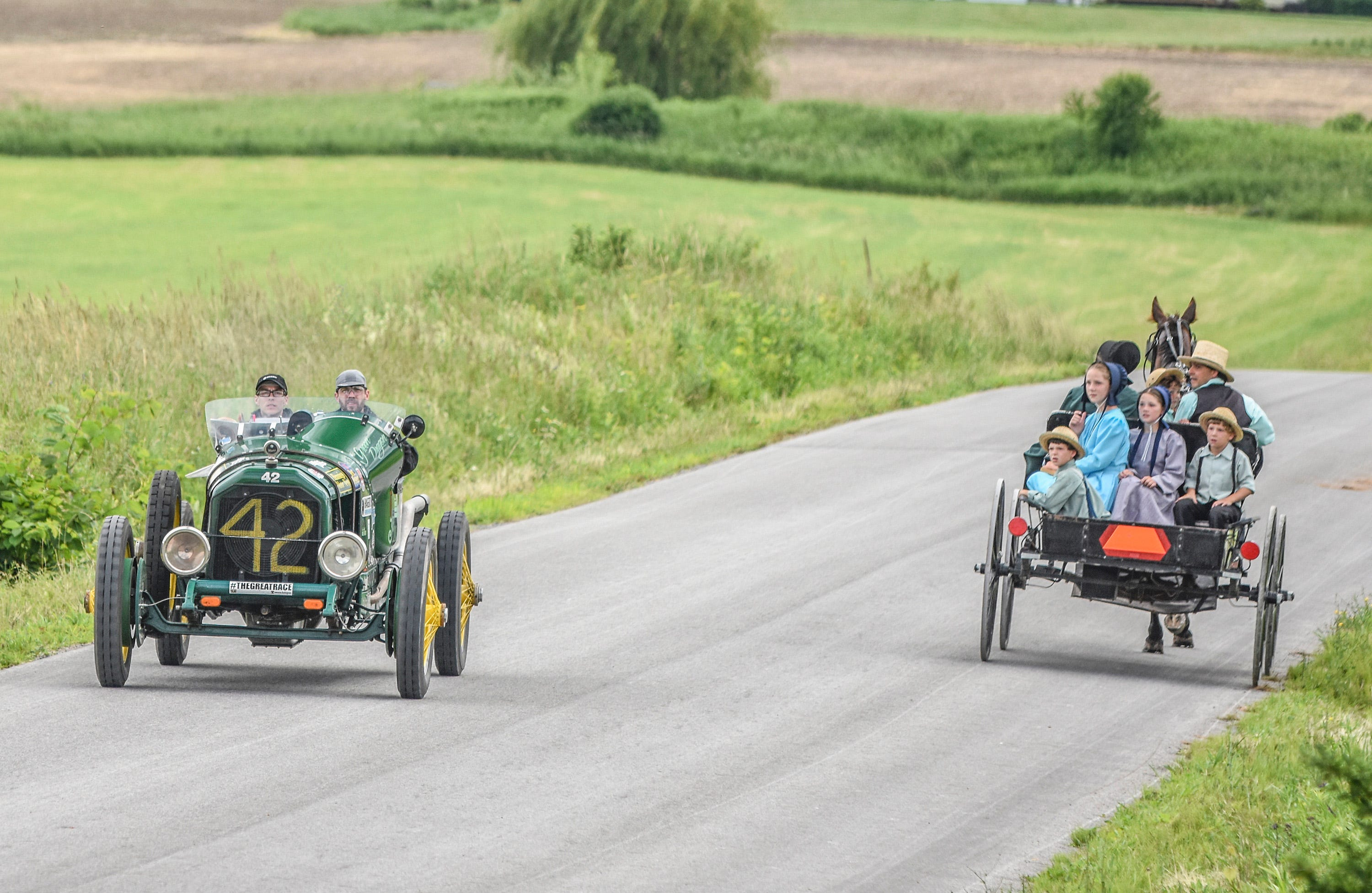 The Hemmings Motor News Great Race presented by Hagerty Drivers Club is COMING SOON!