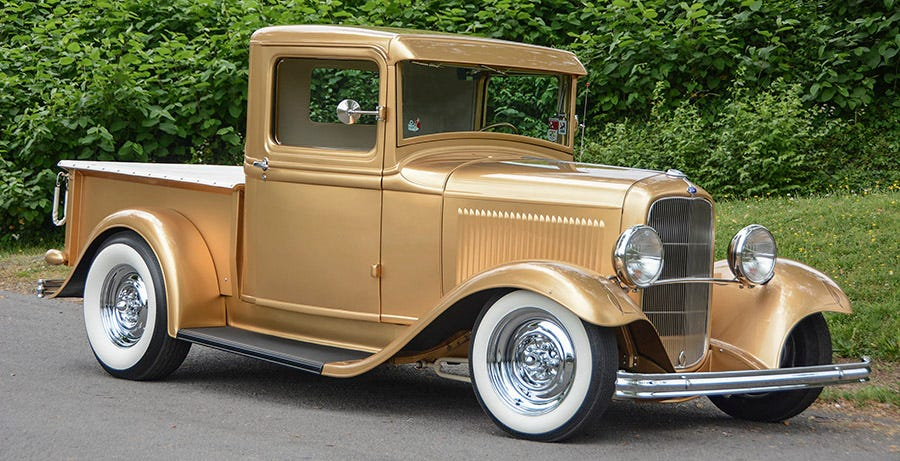 Dave Doolin's 1932 Ford Pickup Takes Us Back to the '50s