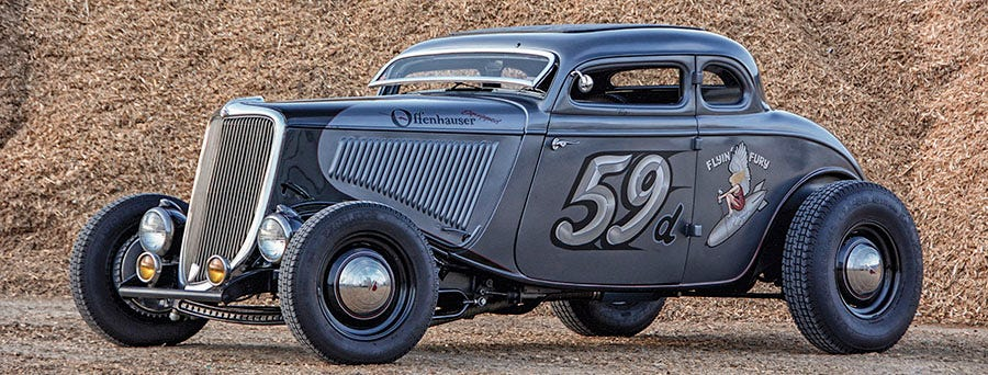 1933 Ford Five-Window Coupe | A Race-Inspired Traditional Hot Rod