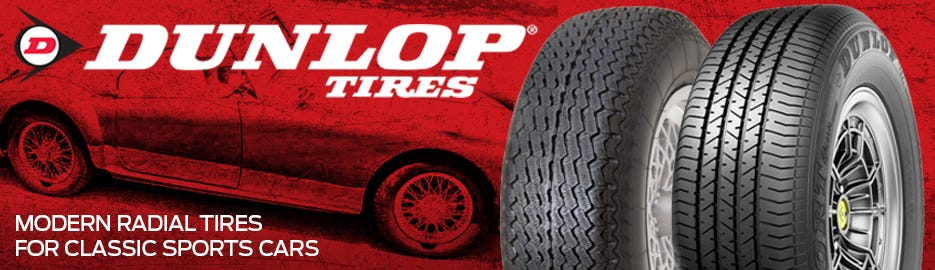 Now Offering Dunlop Sport Classic  and Aquajet Tires