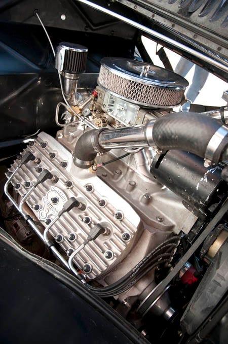Top Secret Aluminum Flathead V8!
