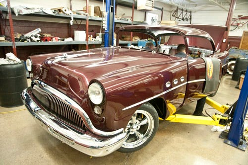 Corky Coker's 1954 Buick for Hot Rod Power Tour