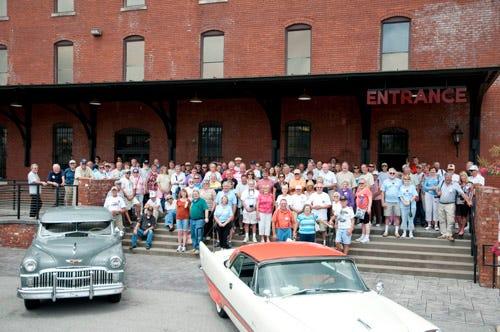 Desoto Club visits Coker Tire