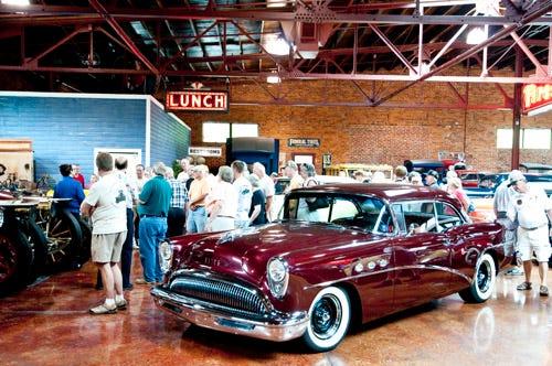 National Desoto Club visits Coker Tire