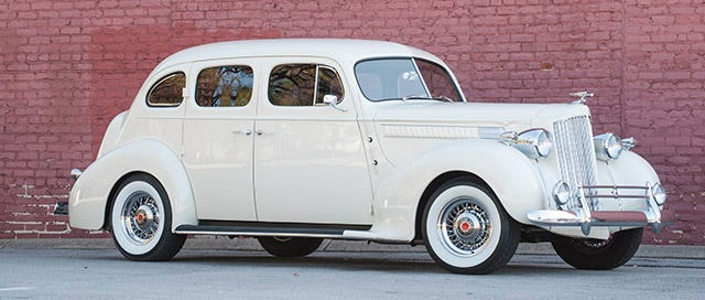 Packard Whitewall Tires and Wire Wheels