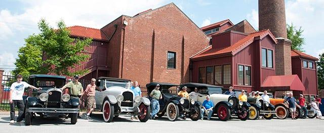 Marmon Club visits Coker Tire company