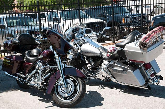 Chad Lambert Memorial Ride at Coker Tire