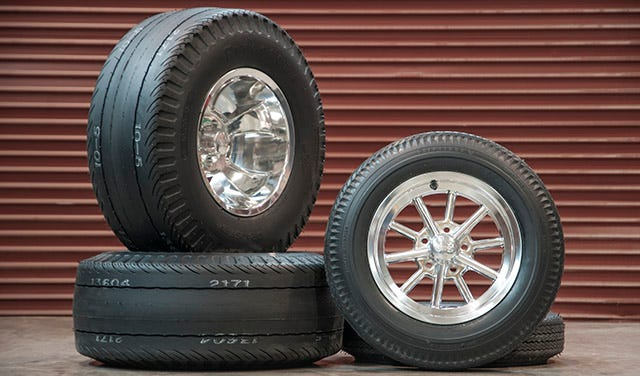 Hot Rod Tire and Wheel