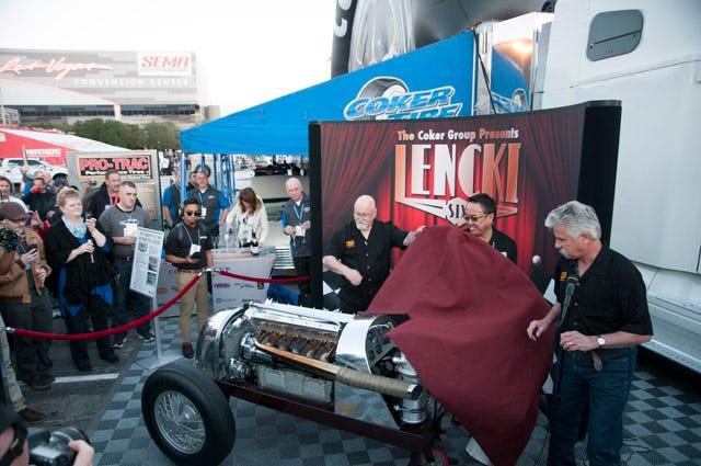 Lencki Six Engine SEMA