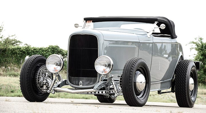 Big and little hot rod tires