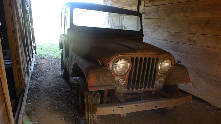 Corky Coker Barn Find Jeep