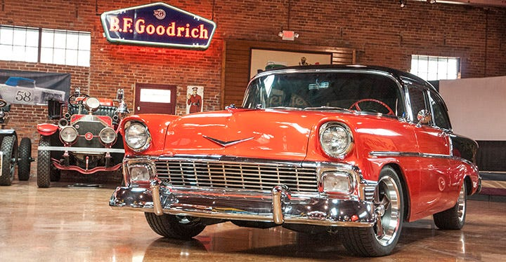 1956 Chevy Backroad Gold