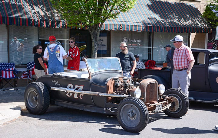 Main Street Cruise In--Cleveland, Tennessee
