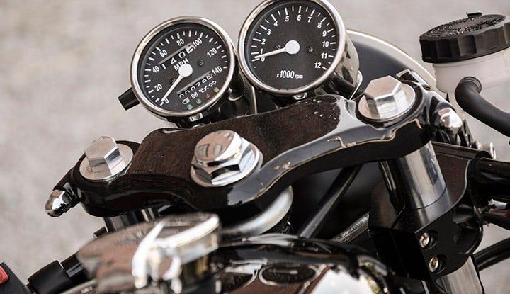 Honda-CB350 Cafe Racer