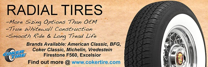 Whitewall Radial Tires