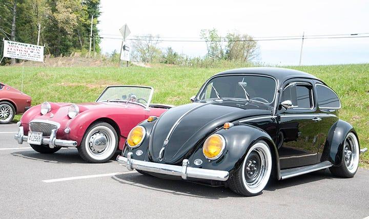 Greg Cunninham's trick little VW Beetle loved the mountain roads