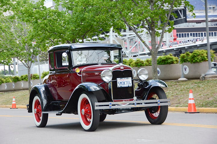 Firestone Model A whitewall replacement tires