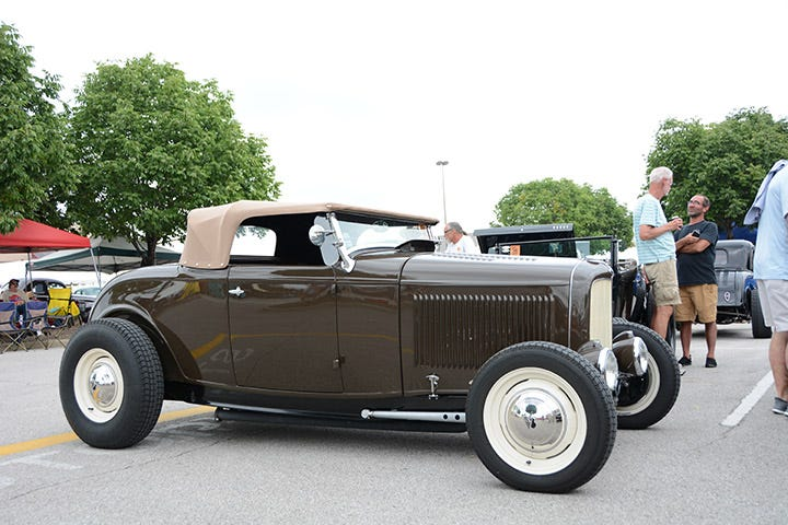 A big trend in the traditional hot rod world is to utilize subtle color combinations, much like Henry Ford did in the '30s. This Deuce roadster offers the perfect example, and sports a set of Excelsior Stahl Sport Radial tires, mounted to Hot Rod Steel wheels.
