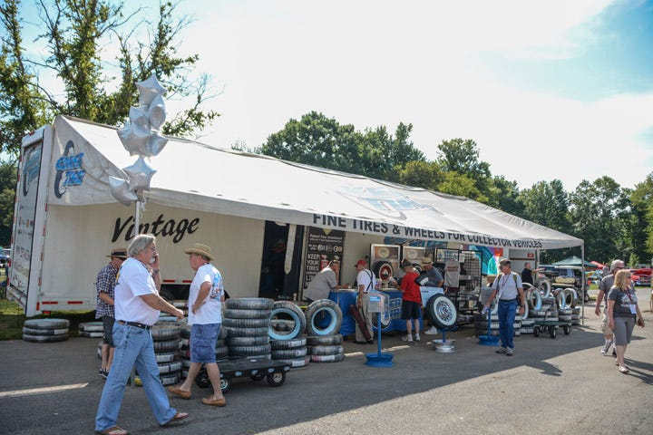 We packed our show trailer with Tri-Five tires and wheels and enjoyed our time at the inaugural Tri-Five Nationals.