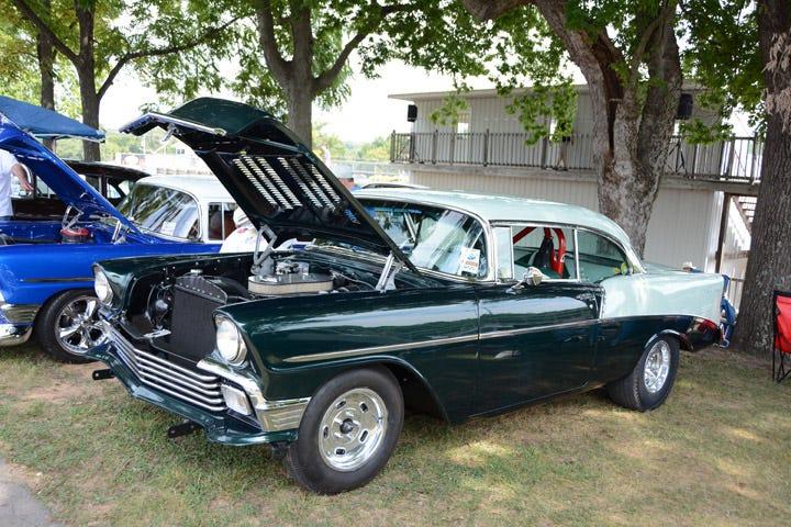 Period Correct 1956 Chevy drag car
