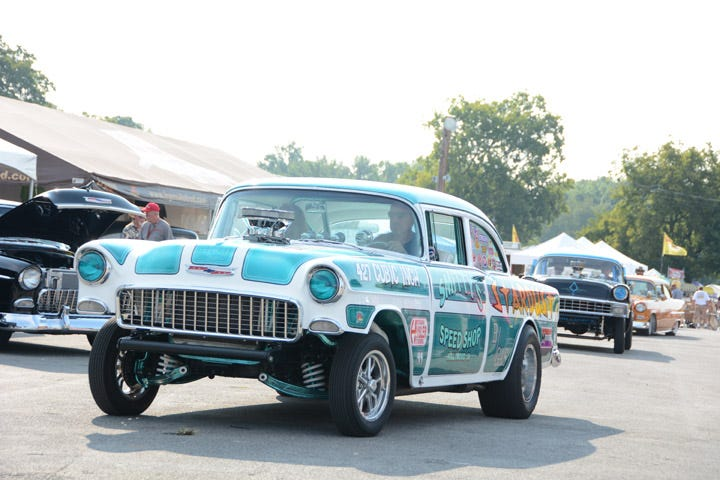 15 Cool Customs and Gassers from the Tri-Five Nationals