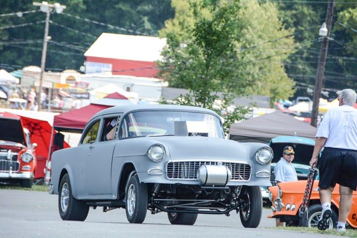 Two Lane Blacktop 55 Chevy Gasser