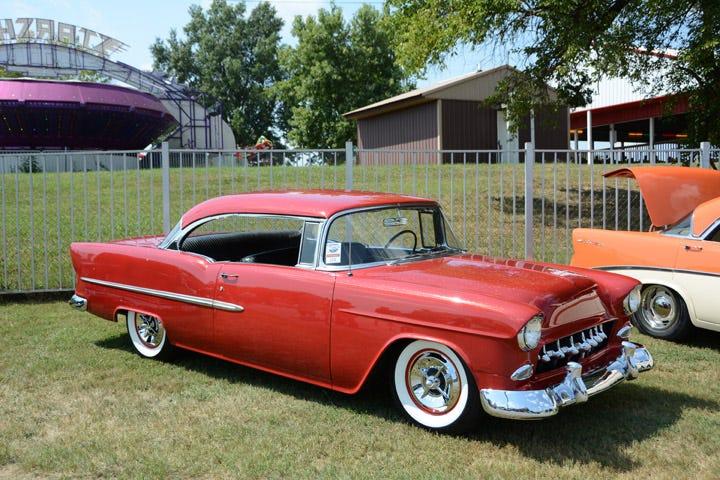 1955 chevy custom