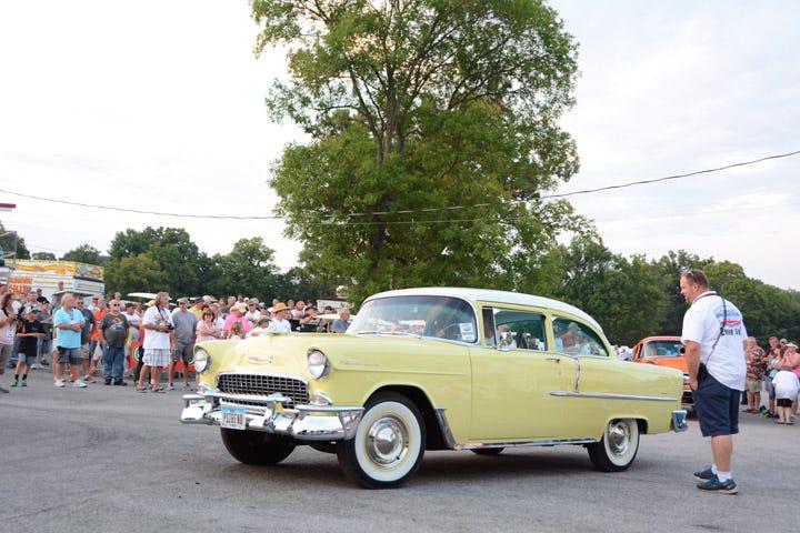1955 Chevy 210 from Lambrecht Chevrolet Auction in Nebraska.