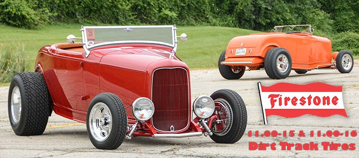 New Firestone Dirt Track Sizes are Perfect for Hot Rods!