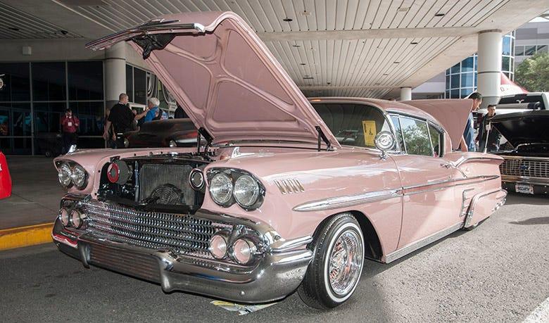 1958 Chevy Impala Lowrider | SEMA 2015 Feature