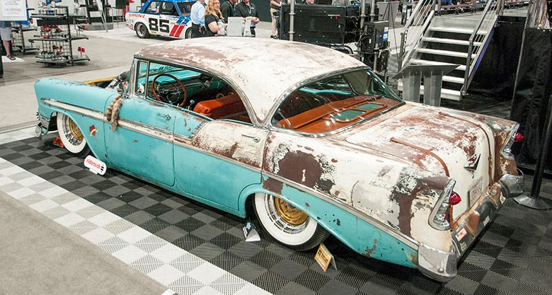 Boosted Bela 1956 Chevy Bel Air