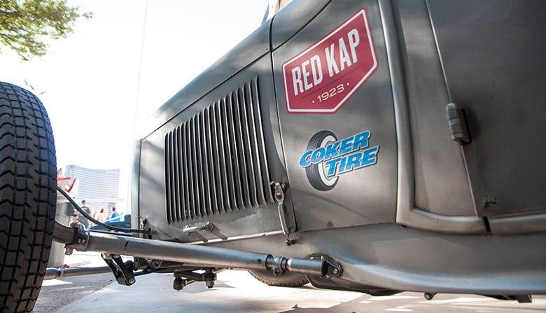 Red Kap Roadster SEMA