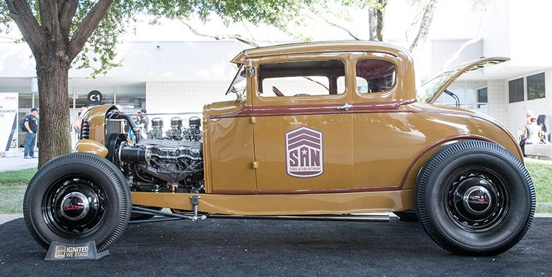 SEMA 2015 Feature--Colby Martin's 1931 Model A Hot Rod