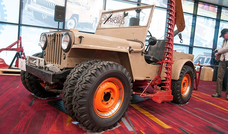 SEMA 2015 Feature--The Farm Jeep and More from OMIX-ADA