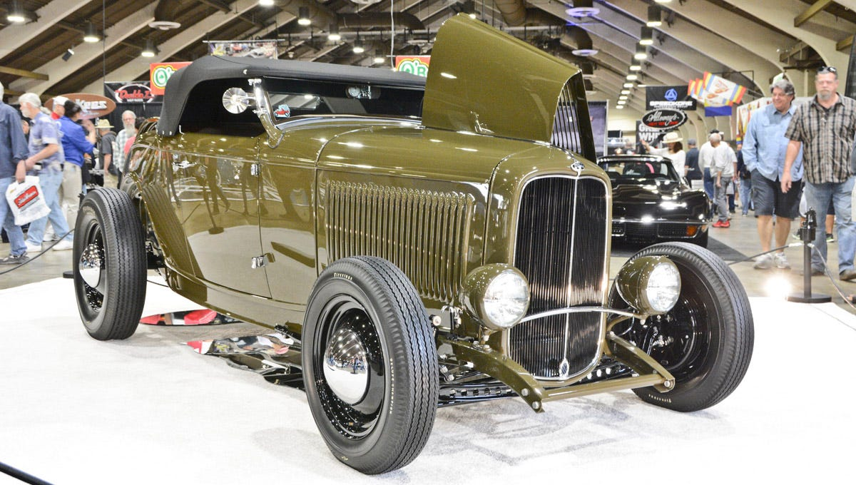 AMBR 2016 Winner--Darryl Hollenbeck's 1932 Ford