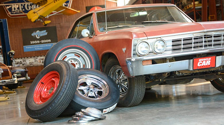 Tire Testing on the Malibeater--A 1967 Chevelle Malibu