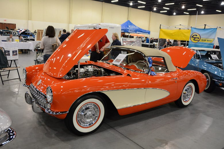Authentic Corvette Tires in Action at the Corvette Expo