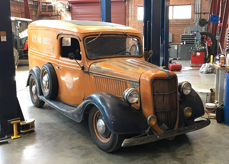 Mike Wolfe's 1936 Ford Gets the Coker Treatment