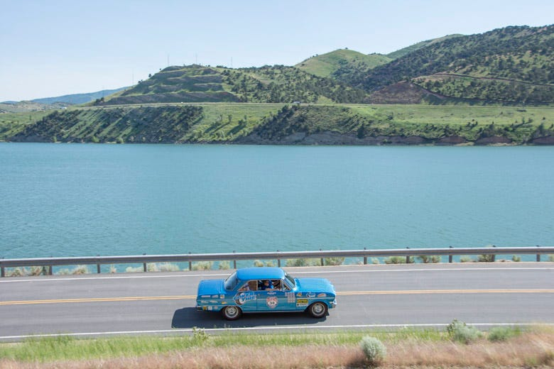 Elko, Nevada to Evanston, Wyoming--Day 4 of the Great Race