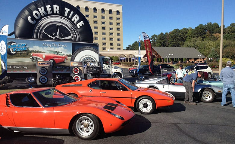 Coker Tire Visits the Euro Auto Festival in Greenville, South Carolina