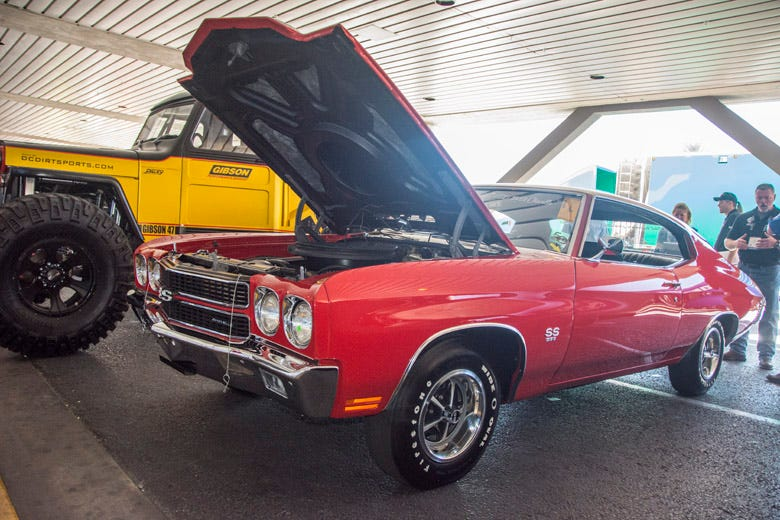 Pre Production 1970 Chevelle SS Features Firestone Wide Oval Tires