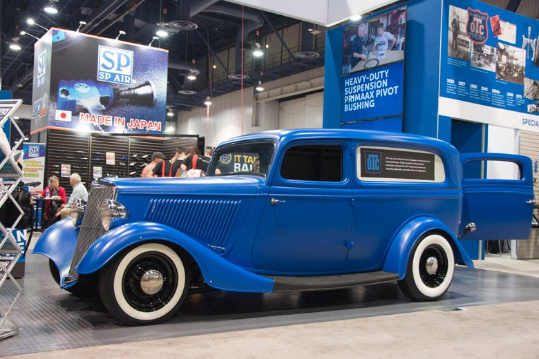 Bryan Fuller Builds A 1934 Ford Sedan Delivery for OTC Tools