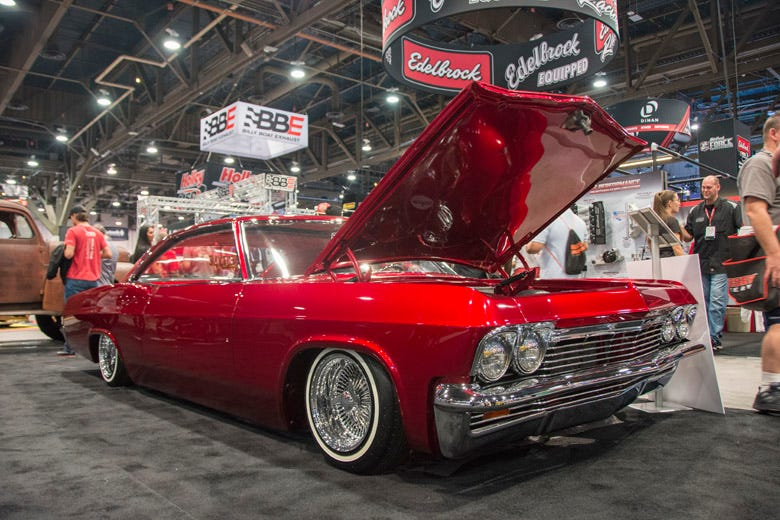 SEMA Feature Vehicle--1965 Chevy Impala Lowrider