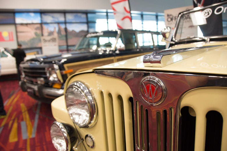 SEMA Feature Vehicles--Omix-ADA Vintage Jeep Display