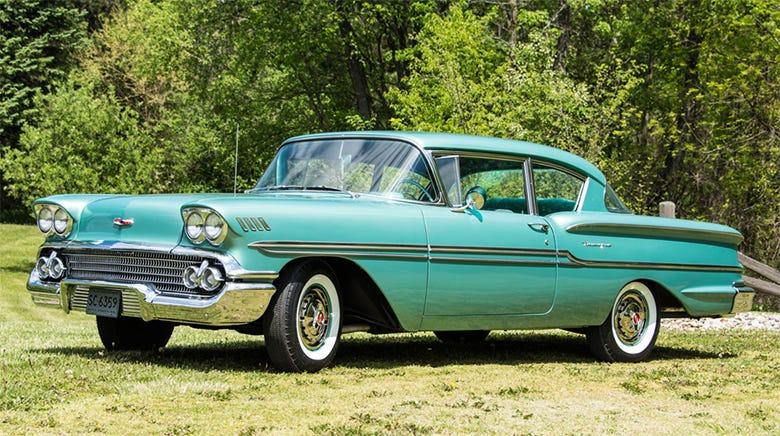 1958 Chevrolet Biscayne happy customers