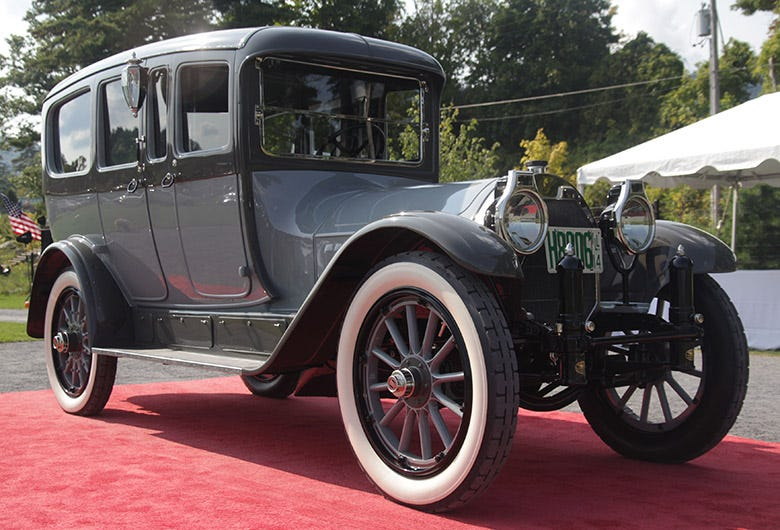 Best in Show at Hemmings Concours d'Elegance Rolls on Coker Tire Products