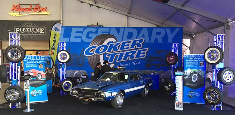 Coker Tire is Now the Exclusive Tire and Wheel Sponsor of Mecum Auctions